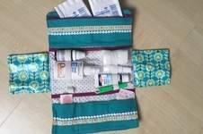 Makerist - Globulita Notfalltasche aus beschichteter Baumwolle - 1