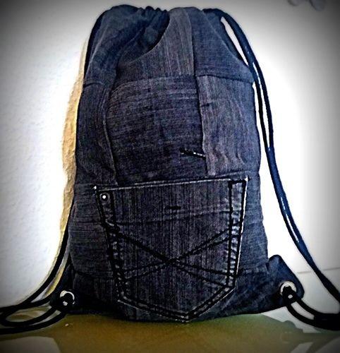 Makerist - Jeans-Rucksack  - Nähprojekte - 1