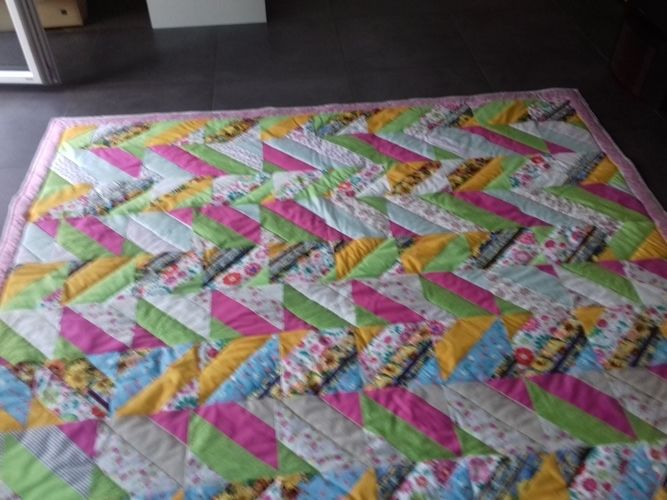 Makerist - Decke - Patchwork-Projekte - 2