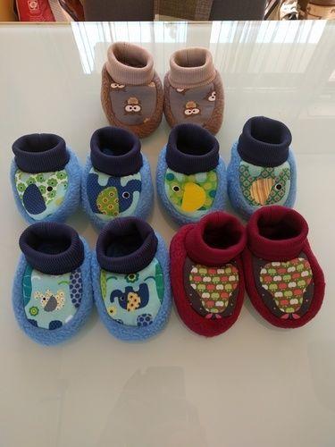 Makerist - Pantöffelchen gemütlich und warm - Nähprojekte - 1