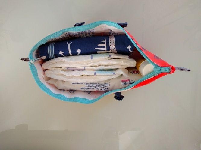 Makerist - Schwimmflügel Tasche als kleine Wickeltasche für unterwegs - Nähprojekte - 3