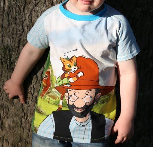 Makerist - Petterson und Findus - Shirt Gr. 110 - Nähprojekte - 1