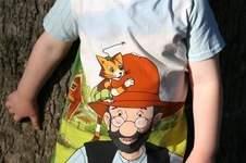 Makerist - Petterson und Findus - Shirt Gr. 110 - 1