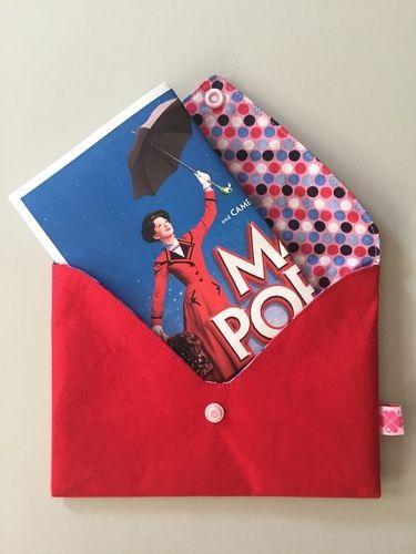 Makerist - Briefumschlag für Gutschein - Nähprojekte - 1