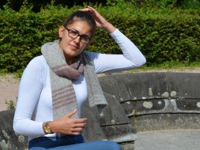 Makerist - Tweed Schal - Strickprojekte - 2