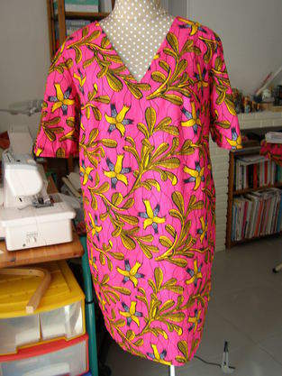 Makerist - Robe en tissu wax - 1