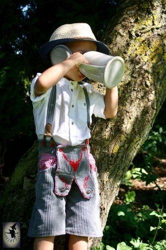 Makerist - Lederhose aus Breitcord - Nähprojekte - 1