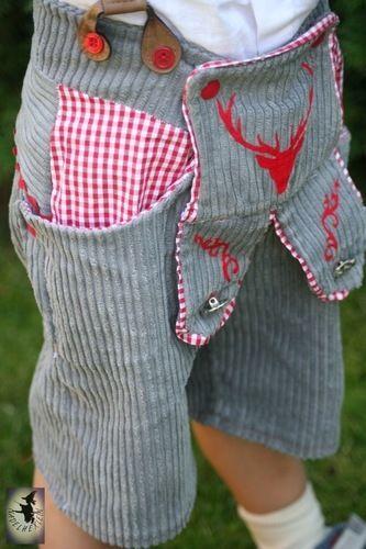 Makerist - Lederhose aus Breitcord - Nähprojekte - 2
