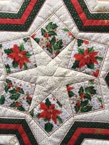 Makerist - Weihnachtsstern - Patchwork-Projekte - 2