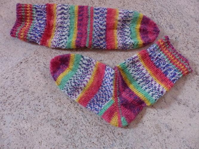 Makerist - Sylvie's Super Socke - Strickprojekte - 1