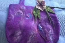 Makerist - Filztasche und Blumen - 1