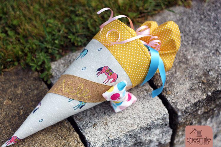 Makerist - Schultüte und KlapPack zum ersten KiTa-Tag :) - Nähprojekte - 3