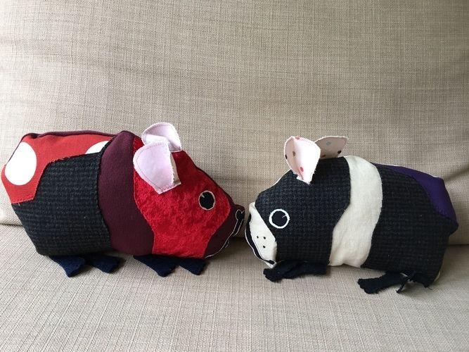Makerist - Schmitt und Schmittchen, die Meerschweine - Nähprojekte - 1