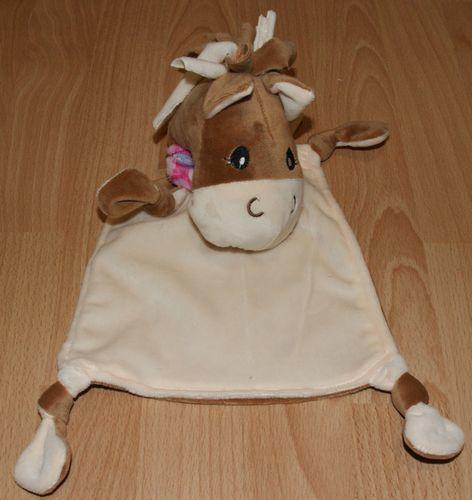 Makerist - Schnuffeltuch Pferd Lady Lu von Kullaloo - Nähprojekte - 1
