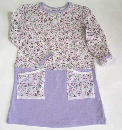 Makerist - Kleidchen aus zwei T-Shirts - Nähprojekte - 1