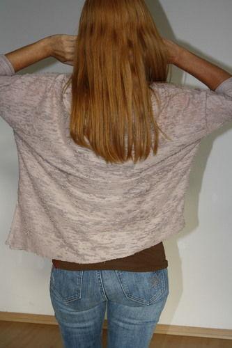 Makerist - Oversize-Shirt Juliene aus Ausbrenner-Strick - Nähprojekte - 2