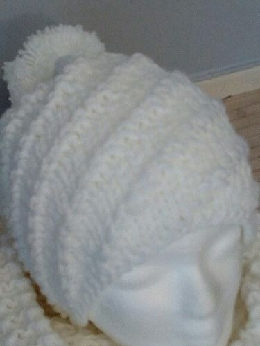 Makerist - Ensemble snood/ bonnet spirale au tricot - Créations de tricot - 2