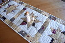 Makerist - weihnachtlicher Tischläufer - 1