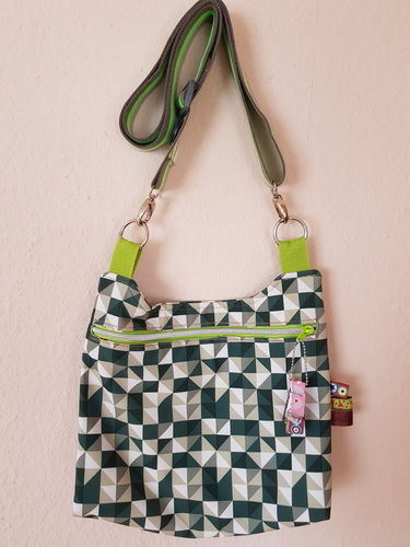 Makerist - Tasche #barbarella# aus SoftShell - Nähprojekte - 1