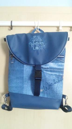 Makerist - Rucksack Hikebag groß - 1