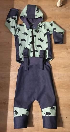 Makerist - Matschanzug für die Kita  - 1