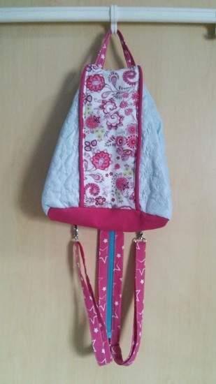 """Makerist - Rucksack-Handtaschen-Hybrid """"Emma"""" - 1"""
