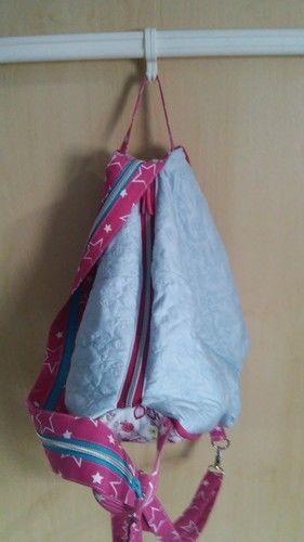 """Makerist - Rucksack-Handtaschen-Hybrid """"Emma"""" - Nähprojekte - 3"""