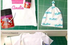 Makerist - Stoff bedrucken mit Freezer Paper als Schablone - 1
