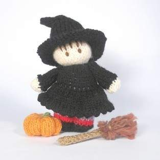 Makerist - Halloween Witch Bitsy Baby - 1