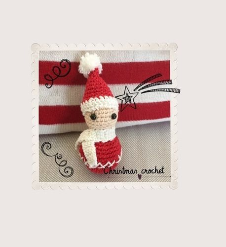 Makerist - Petit lutin de Noël au crochet tuto gratuit. - Créations de crochet - 1