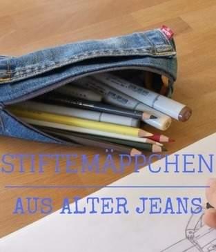 Makerist - Schlampermäppchen aus alter Jeans - 1