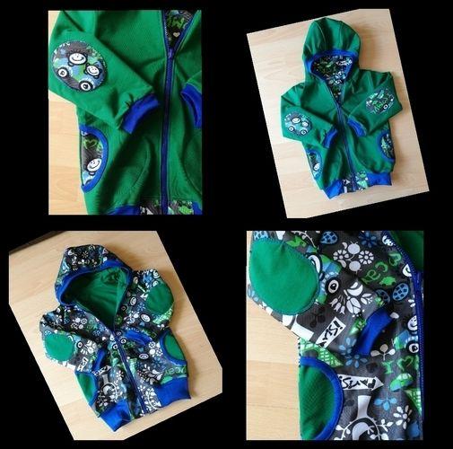 Makerist - Wende Jacke von Textilsucht - Nähprojekte - 1