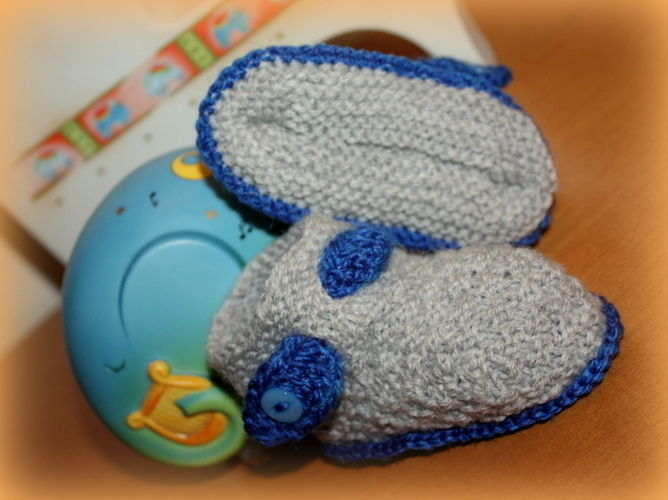 "Makerist - Booties ""Bavaria"" - Strickprojekte - 1"