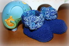 Makerist - Babyschuhe mit Zopf - 1