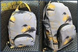 Makerist - Kindergartenrucksack aus Softshell - 1