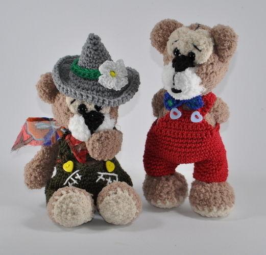 Makerist - Franz und Seppl - richtig gute Freunde - Häkelprojekte - 1