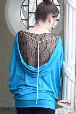 Makerist - Backless Polli Shirt - 1