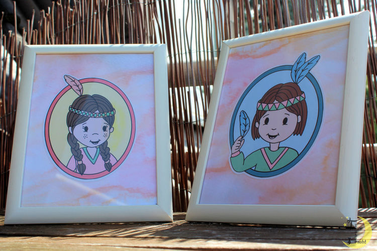 Makerist - Elu&Moki Portraits - DIY-Projekte - 1