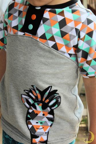 """Makerist - Buntes Shirt """"Maxima"""" - Nähprojekte - 1"""