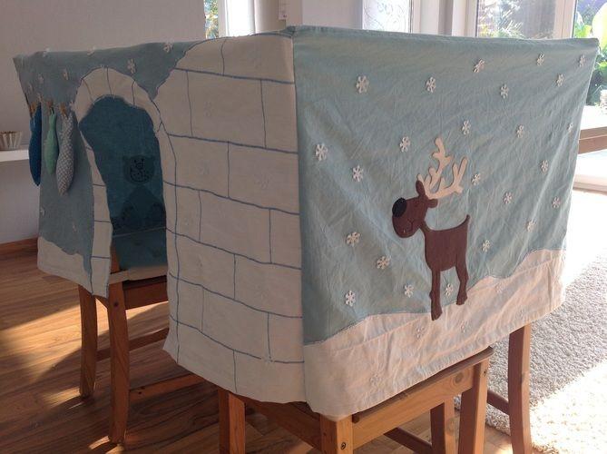 Makerist - Tischhusse Spielzelt für eine Kindergartengruppe  - Nähprojekte - 3