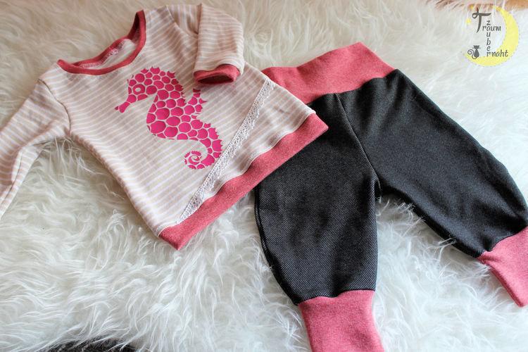 Makerist - Seepferdchen-Babyset - Nähprojekte - 3