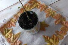 Makerist - Napperon en jute et feuilles - 1