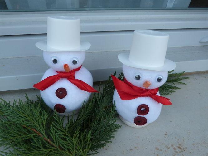 Makerist - Bonhommes de neige - Autres créations - 1