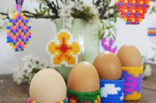 Makerist - Eierbecher aus Bügelperlen - 1
