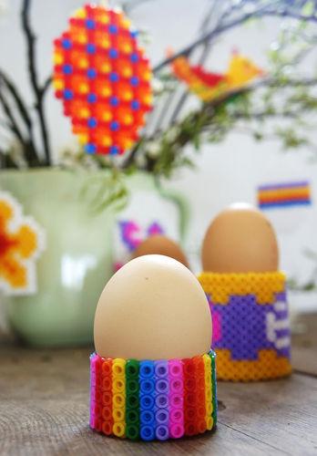 Makerist - Eierbecher aus Bügelperlen - DIY-Projekte - 2