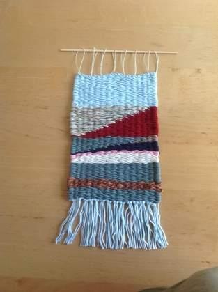 Makerist - Blaugrüne Welt aus Wolle - 1