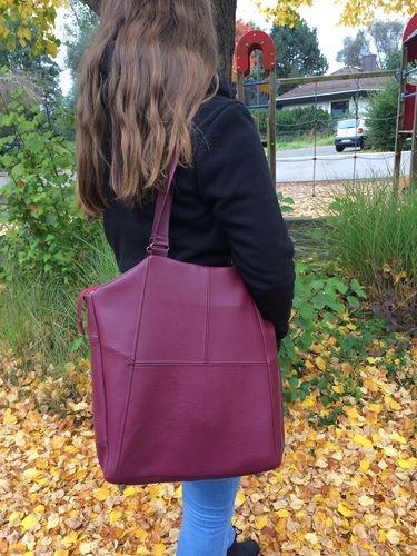 Makerist - Tasche Lexa aus Kunstleder für die Tochter - Nähprojekte - 1