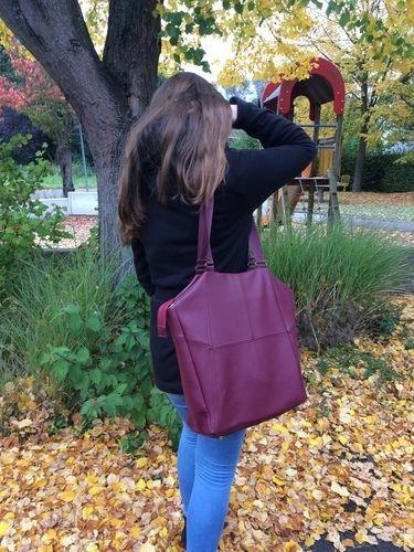 Makerist - Tasche Lexa aus Kunstleder für die Tochter - Nähprojekte - 3