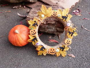Makerist - couronne Halloween - 1