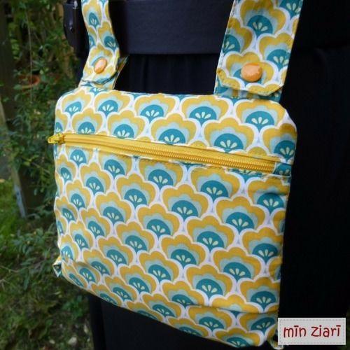 Makerist - Retro Tasche - Multimade Bag - Nähprojekte - 1
